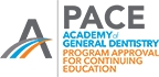 Academy of General Dentistry PACE program provider logo